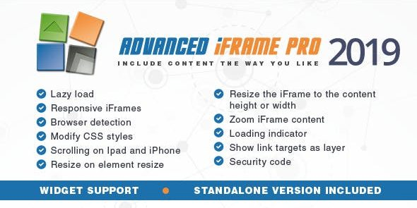 Advanced iFrame Pro - GPL Downloads - Premium WordPress Themes & Plugins