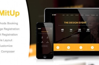 MitUp – Event & Conference WordPress Theme
